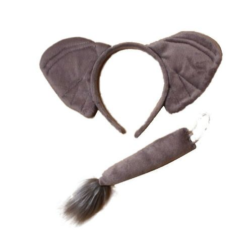 Elephant Ears Alice Hair Band and Tail Set